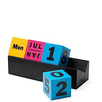 Cubes Perpetual Calendar CMYK