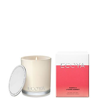 Guava and Lychee Sorbet Mini Madison Jar Candle