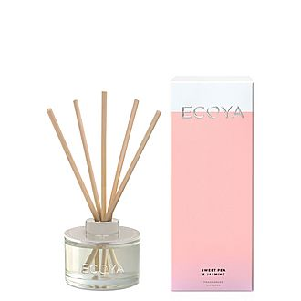 Sweet Pea and Jasmine Mini Diffuser 50ml