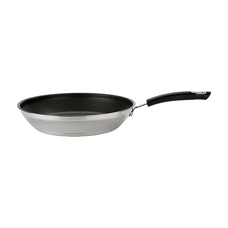 Total Stainless Steel Frying Pan 30cm, ${color}