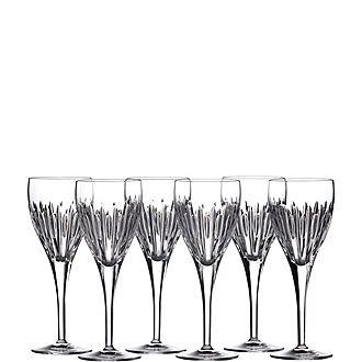 Set of Six Mara Wine Glasses