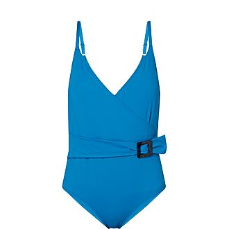 Loulou Wrap Swimsuit