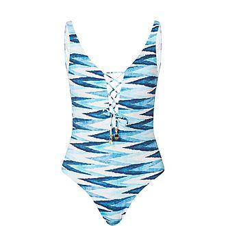 Mitsio Naopali Printed Swimsuit