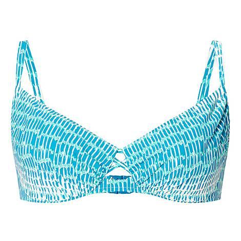 Shades Tie-Dye Print Bikini Top, ${color}