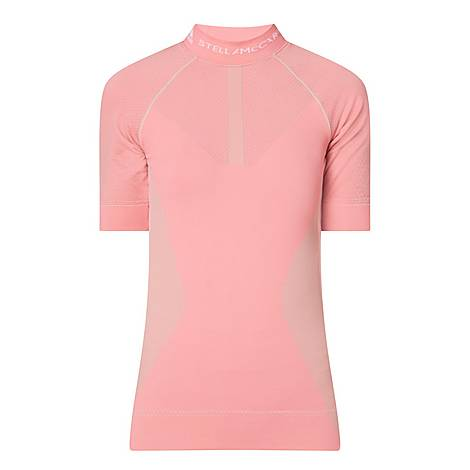 Cut Out Seamless Running T-Shirt, ${color}