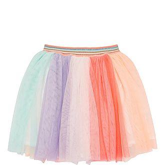 Stripe Tulle Skirt