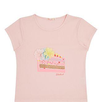 Cake Print T-Shirt
