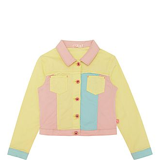 Colourblock Denim Jacket
