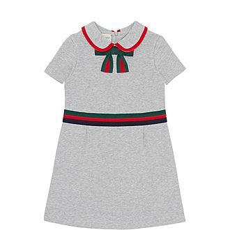 Web Striped Cotton Dress