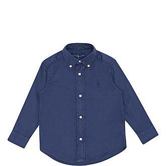 Washed Long Sleeve Shirt