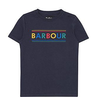 Multi-Tonal Logo T-Shirt
