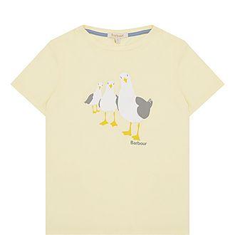 Seagull Print T-Shirt