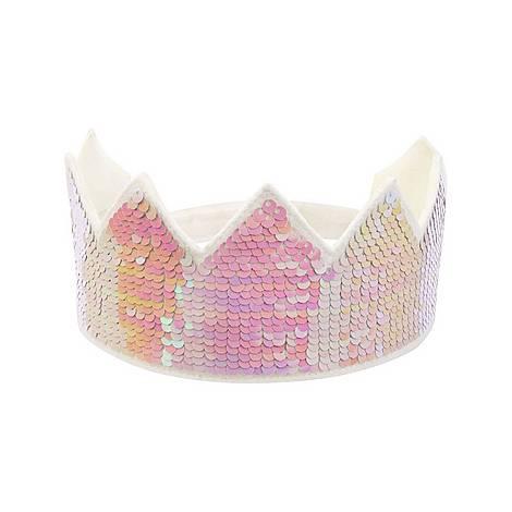 Reverse Sequin Party Crown, ${color}