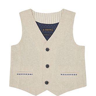 Striped Back Waistcoat