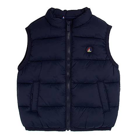 Boat Patch Padded Gilet, ${color}