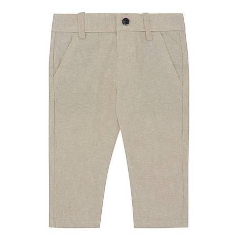 Cotton And Linen Chinos, ${color}
