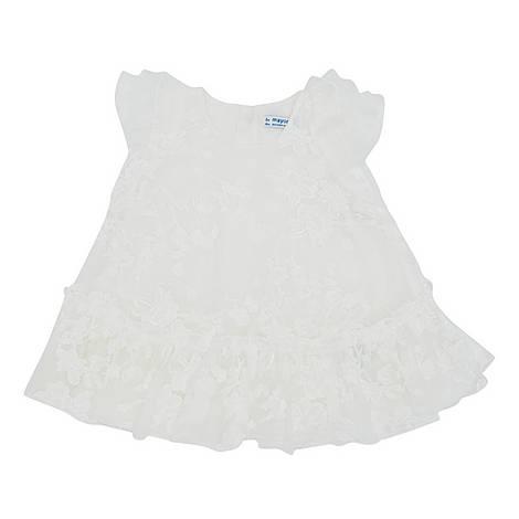 Floral Print Lace Dress, ${color}