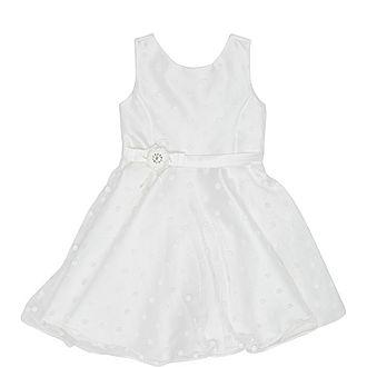 Tulle Polka-dot Dress