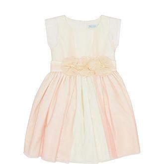 Floral Detail Sleeveless Dress