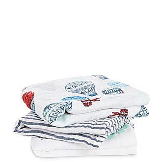 Musy - Muslin Squares Dream Ride 3 Pack