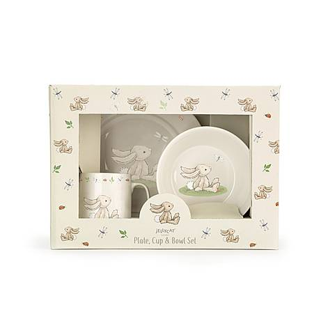 Bunny Ceramic Dinner Set, ${color}