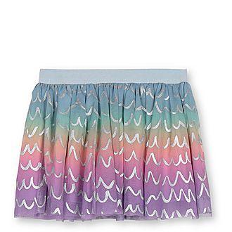 Tulle Foil Skirt