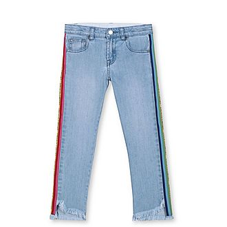 Rainbow Logo Jeans