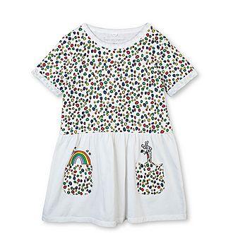 Giraffe Dots Jersey Dress