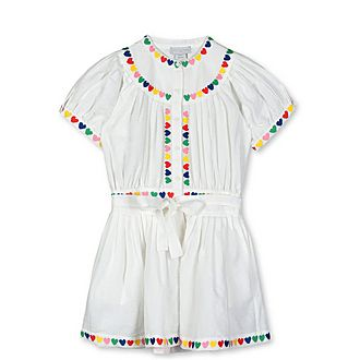 Heart Embroidery Dress