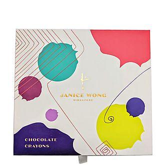 Box of Eight Chocolate Edible Drawing Crayons