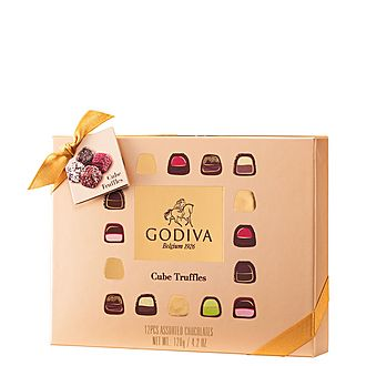 12-Piece Cube Truffles