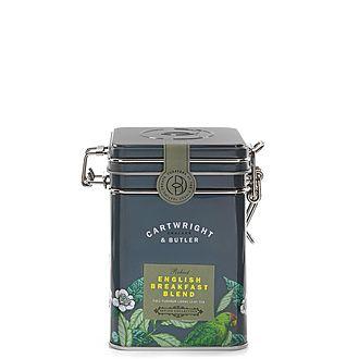 English Breakfast Blend Loose Leaf Tea Caddy