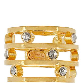 Crystal Stack Ring
