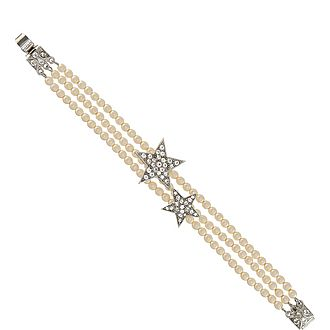Three Row Star Bracelet