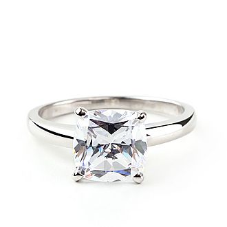 Classic Cushion Solitaire Ring