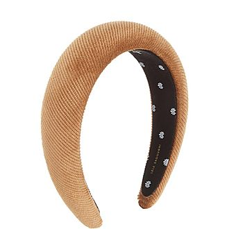 Corduroy Padded Headband