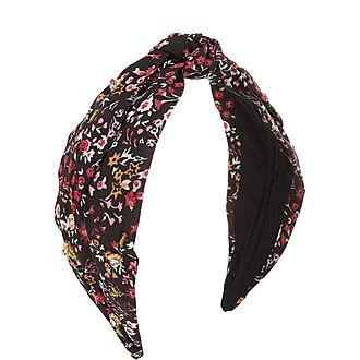 Floral Wrap Headband