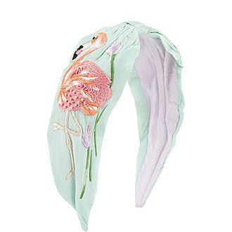 Flamingo Wrap Headband