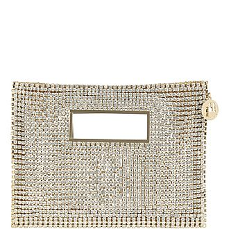 Iside Crystal Embellished Clutch