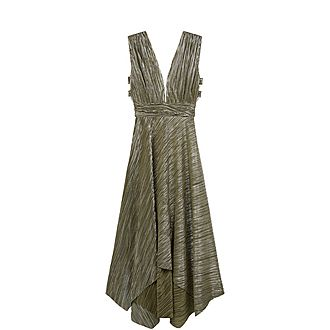 Metallic Thread Dress