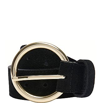 Split Leather Belt