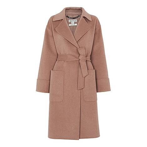 Double-Faced Wrap Coat, ${color}