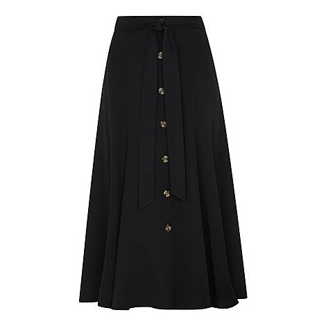 Marissa Button-Through Skirt, ${color}