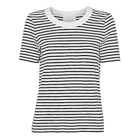 Rosa Double Trim Stripe T-Shirt, ${color}