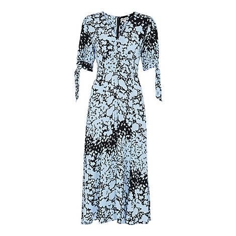 Floral Animal Neave Dress, ${color}