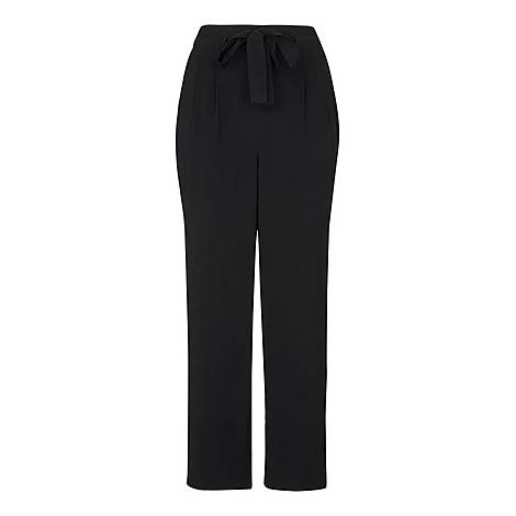Belted Casual Trousers, ${color}