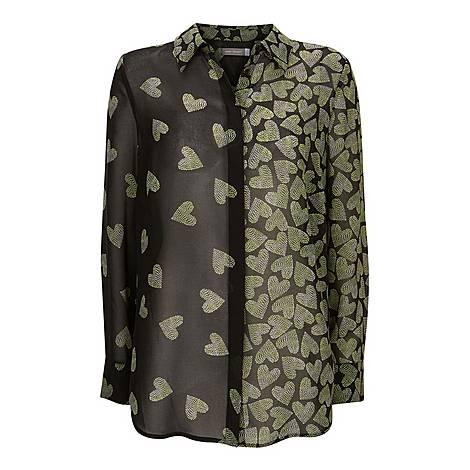 Valentina Heart Print Shirt, ${color}