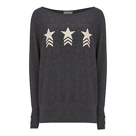 Star Front Batwing Jumper, ${color}