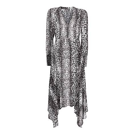 River Leopard Print Midi Dress, ${color}
