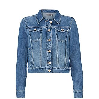 Authentic Indigo Denim Jacket